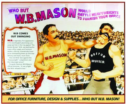 Mason prizefighter
