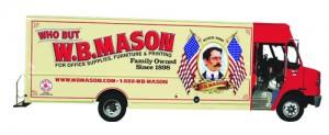 Mason truck